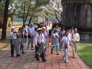 日本在越南顺化市前十大旅游客源市场中位居第八