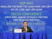 2017年亚太经合组织第一次高官会圆满落幕 通过四大合作领域