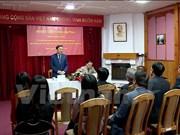 越南公安部部长苏林造访越南驻白俄罗斯大使馆