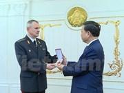 越南公安部部长苏林出席白俄罗斯警察力量成立100周年纪念典礼