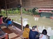 越南广宁省: 乡下旅游