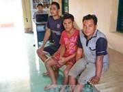 朔庄省边防部队成功营救3名海上遇险印尼船员