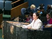 越南常驻联合国代表积极建言献策 响应世界野生动植物日