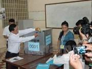 柬埔寨乡分区理事会选举:12个政党登记参选