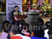 旅居泰国越南人为英烈们举行超度法会