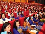 第十二次越南全国妇女代表大会选举产生新一届妇联执行委员会