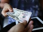 10日越盾兑美元中心汇率较前一日上涨5越盾