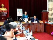 国会主席阮氏金银莅临莱州省调研指导工作