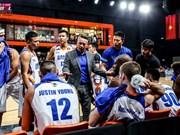 2017年泰国篮球超级联赛:河内水牛队击败Hitech队