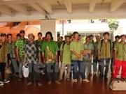 印尼释放27名越南渔民回国