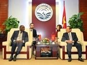 越南与安哥拉加强电信与信息技术领域合作
