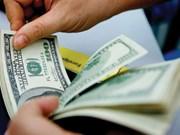 15日越盾兑美元中心汇率保持不变