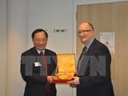 越南公安部代表团赴欧洲进行访问