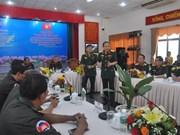 越柬青年军官加强交流  增进两国团结友谊