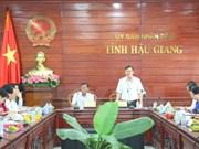 越南塔塔国际有限公司希望对后江省农业领域进行投资