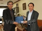 越南通讯社与印尼安塔拉通讯社承诺强化合作