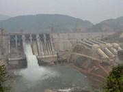 清化省中山水电厂2号机组并网成功