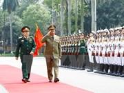 越南与古巴两国军队推进双边合作