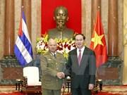 国家主席陈大光:越南在任何情况下都愿与古巴肩并肩站在一起