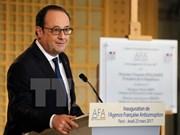 法国总统奥朗德访问新加坡等东南亚三国