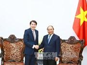 越南政府总理阮春福会见凯德集团总裁林明彦