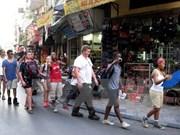 2017年3月河内市接待国际游客量环比增长21.8%