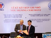 越南与摩洛哥学术界加强学术信息交流