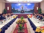 胡志明市与万象市努力推动双边合作协议落到实处