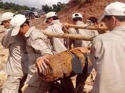 越南努力做好战后遗留爆炸物处理工作