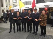 越南参加在新西兰举行的东盟夜市文化节