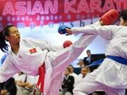 2017年空手道K1锦标赛阿联酋站:阮氏顽摘铜