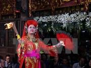 越南三府祀母信仰被列入《人类非物质文化遗产代表作名录》证书授证仪式在南定省举行