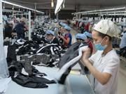 2017年第一季度越南全国出口总额同比增长12.8%