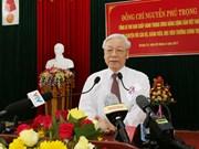 阮富仲总书记:广治省应充分挖掘各种资源 促进经济社会全面发展
