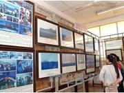 """""""黄沙和长沙归属越南:历史证据和法律依据"""" 资料图片展在庆和省举行"""