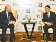 河内希望与微软集团加强信息技术合作