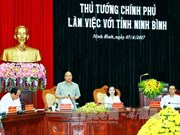 政府总理阮春福:将旅游真正成为宁平省的发展动力