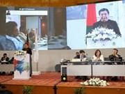 各国议会联盟第136届大会发表达卡公报