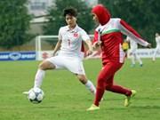 越南女足6-1横扫伊朗 继续稳坐头把交椅