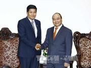 越南政府总理阮春福会见缅甸新任驻越大使