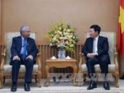 越南政府副总理范平明会见联合国开发计划署驻越首席代表