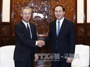 越南国家主席:拓展越通社与日本共同社合作范围 推动越日纵深战略合作关系迈上新台阶