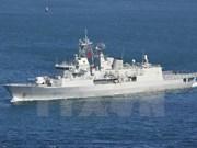 新西兰皇家海军护卫舰对岘港市进行友好访问