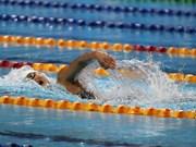 越南游泳女将阮氏映圆在美国游泳系列赛上位居第5