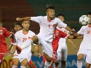 2017年U19国际足球锦标赛:越南U19队险胜缅甸U19队
