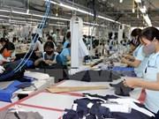 2017年第一季度越南纺织服装出口额增长11.2%