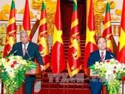 越南与斯里兰卡发表联合声明 强调加强多方面的合作