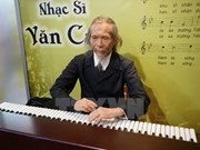 越南首个艺术名人蜡像馆开门迎客  有望成为游客的新旅游景点