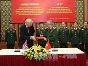 越南希望与英国加强防务合作