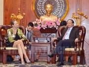 胡志明市领导希望美国企业加大对该市的投资力度